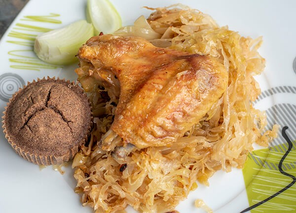 Podvarak sa piletinom u rerni ispod sača
